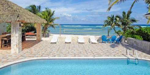 Villa Pool at Villa GCM RRM (Reef Romance) at Rum Point, Grand Cayman, Family-Friendly, Pool, 5 Bedroom, 5 Bathroom, WiFi, WIMCO Villas