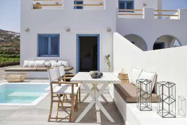 Villa Pool at Villa GRC NYK (Nykteri at Vino Houses) at Santorini/Oia, Greece, Family-Friendly, Pool, 2 Bedroom, 1 Bathroom, WiFi, WIMCO Villas