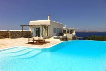 Villa Pool at Villa LIV ANE (Anemone) at Mykonos, Greece, Family-Friendly, Pool, 3 Bedroom, 2 Bathroom, WiFi, WIMCO Villas