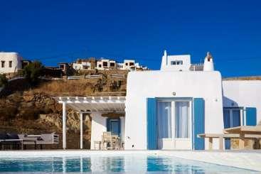 Exterior of Villa LIV CRY (Crystal Sea) at Mykonos, Greece, Family-Friendly, No Pool, 4 Bedroom, 4 Bathroom, WiFi, WIMCO Villas