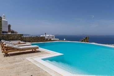 Villa Pool at Villa LIV HOS (Phos) at Mykonos, Greece, Family-Friendly, Pool, 5 Bedroom, 5 Bathroom, WiFi, WIMCO Villas