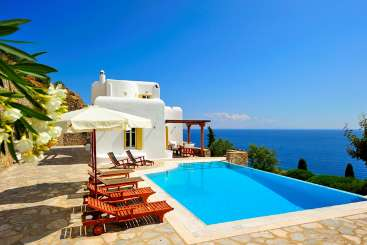 Exterior of Villa LIV ILI (Ilios) at Mykonos, Greece, Family-Friendly, Pool, 4 Bedroom, 3 Bathroom, WiFi, WIMCO Villas