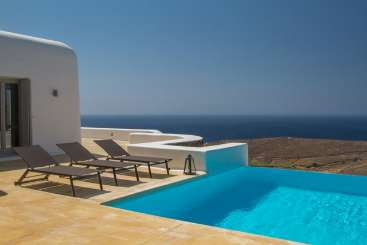 Villa Pool at Villa LIV MIN (Minerva) at Mykonos, Greece, Family-Friendly, Pool, 5 Bedroom, 5 Bathroom, WiFi, WIMCO Villas