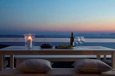 The view from Villa LIV MSH (Moon Shadow) at Mykonos, Greece, Family-Friendly, Pool, 4 Bedroom, 3 Bathroom, WiFi, WIMCO Villas