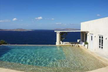 Greece Romantic Retreat, Honeymoon Villa Silence Nest