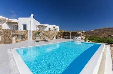 Villa Pool at Villa LIV OLE (Oleandri) at Mykonos, Greece, Family-Friendly, Pool, 5 Bedroom, 5 Bathroom, WiFi, WIMCO Villas
