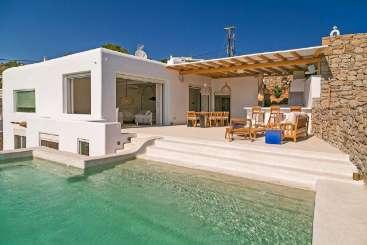 Exterior of Villa LIV RTM (Artemide) at Mykonos, Greece, Family-Friendly, Pool, 5 Bedroom, 5 Bathroom, WiFi, WIMCO Villas
