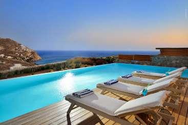 Villa Pool at Villa LIV SOL (Solelia) at Mykonos, Greece, Family-Friendly, Pool, 4 Bedroom, 4 Bathroom, WiFi, WIMCO Villas