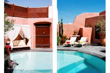 Villa Pool at Villa VMS IIO (Io) at Santorini, Greece, Family-Friendly, Pool, 2 Bedroom, 1 Bathroom, WiFi, WIMCO Villas