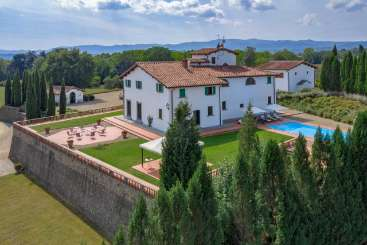 Exterior of Villa BRV ADO (Adorna) at Tuscany/Florence, Italy, Family-Friendly, Pool, 5 Bedroom, 5 Bathroom, WiFi, WIMCO Villas