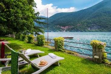 The view from Villa BRV ADR (Adria) at Lake Como, Italy, Family-Friendly, No Pool, 4 Bedroom, 3 Bathroom, WiFi, WIMCO Villas