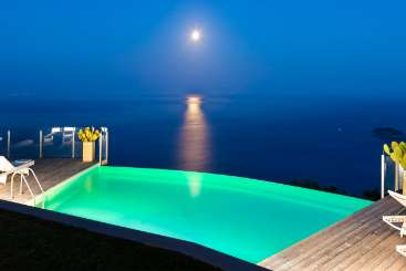 Villa Pool at Villa BRV ALD (Aldana) at Amalfi Coast, Italy, Family-Friendly, Pool, 4 Bedroom, 3 Bathroom, WiFi, WIMCO Villas