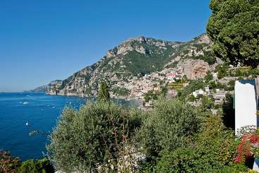 The view from Villa BRV ALT (Alta) at Amalfi Coast, Italy, Family-Friendly, Pool, 4 Bedroom, 5 Bathroom, WiFi, WIMCO Villas