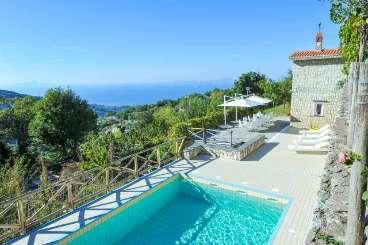 Villa Pool at Villa BRV ANN (Annia) at Sorrento Coast, Italy, Family-Friendly, Pool, 6 Bedroom, 6 Bathroom, WiFi, WIMCO Villas