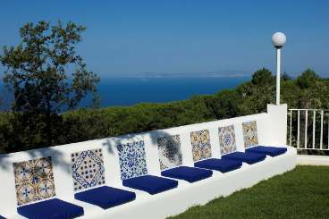 The view from Villa BRV ARA (Arabesca) at Amalfi Coast, Italy, Family-Friendly, Pool, 5 Bedroom, 5 Bathroom, WiFi, WIMCO Villas