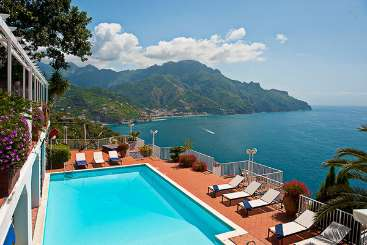 The view from Villa BRV CAR (Carla) at Amalfi Coast, Italy, Family-Friendly, Pool, 4 Bedroom, 4 Bathroom, WiFi, WIMCO Villas