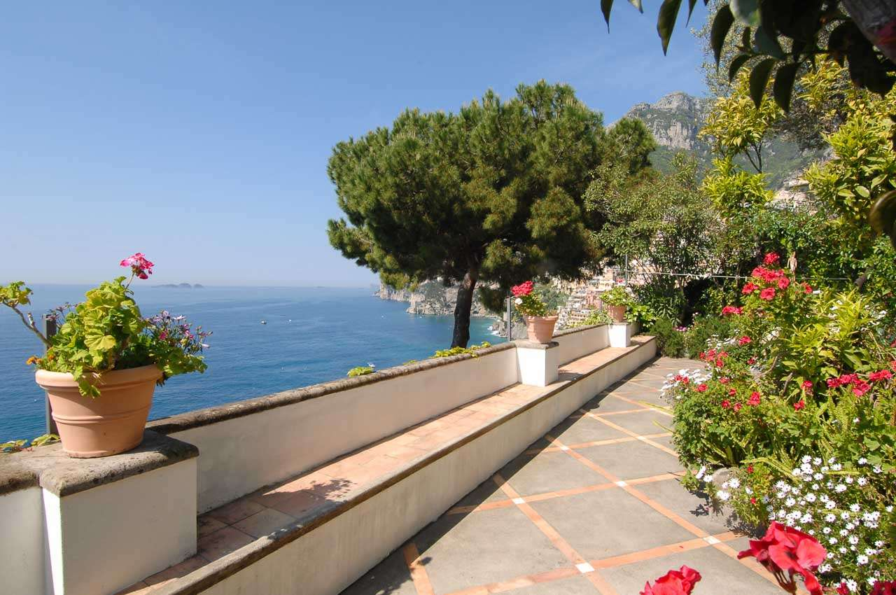 Veranda at Villa BRV CLE (Cleta) at Amalfi Coast, Italy, Family-Friendly, Pool, 2 Bedroom, 2 Bathroom, WiFi, WIMCO Villas