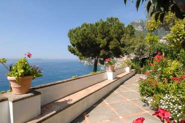 Veranda at Villa BRV CLE (Cleta) at Amalfi Coast, Italy, Family-Friendly, Pool, 2 Bedroom, 2 Bathroom, WiFi, WIMCO Villas