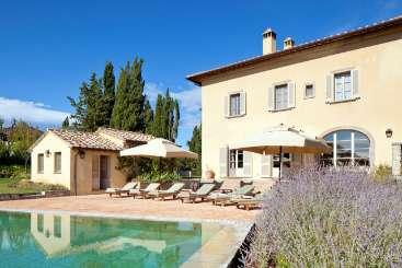 Villa Pool at Villa BRV CLI (Clio) at Tuscany, Italy, Family-Friendly, Pool, 4 Bedroom, 4 Bathroom, WiFi, WIMCO Villas