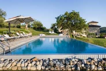 Villa Pool at Villa BRV COL (Colli) at Tuscany/Chianti, Italy, Family-Friendly, Pool, 5 Bedroom, 5 Bathroom, WiFi, WIMCO Villas