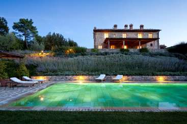 Villa Pool at Villa BRV ERA (Erato) at Tuscany, Italy, Family-Friendly, Pool, 3 Bedroom, 3.5 Bathroom, WiFi, WIMCO Villas