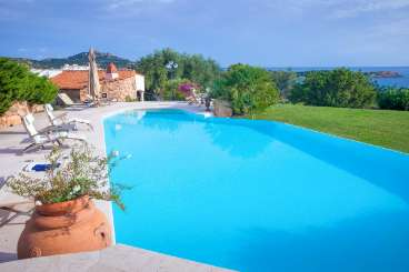 Villa Pool at Villa BRV ERI (Erithia) at Sardinia, Italy, Family-Friendly, Pool, 4 Bedroom, 3 Bathroom, WiFi, WIMCO Villas