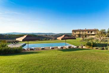 Villa Pool at Villa BRV EUT (Euterpe) at Tuscany, Italy, Family-Friendly, Pool, 4 Bedroom, 4 Bathroom, WiFi, WIMCO Villas