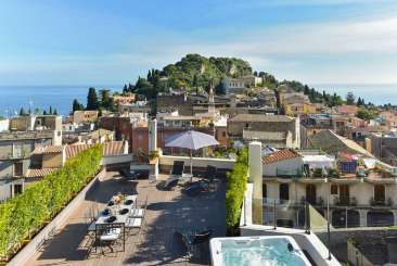 The view from Villa BRV GNO (Giano - Apartment) at Sicily, Italy, Family-Friendly, No Pool, 3 Bedroom, 4 Bathroom, WiFi, WIMCO Villas