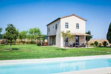 Villa Pool at Villa BRV JEL (Jelanda) at Tuscany/Val D Orcia, Italy, Family-Friendly, Pool, 2 Bedroom, 2 Bathroom, WiFi, WIMCO Villas