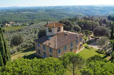 Exterior of Villa BRV LEI (Leila) at Tuscany/Florence, Italy, Family-Friendly, Pool, 8 Bedroom, 9 Bathroom, WiFi, WIMCO Villas