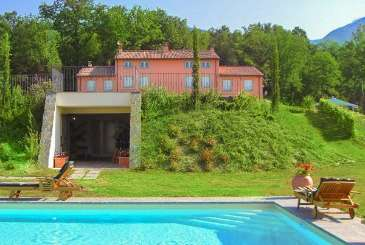 Exterior of Villa BRV LEN (Leandra) at Tuscany/Lucca, Italy, Family-Friendly, Pool, 7 Bedroom, 7 Bathroom, WiFi, WIMCO Villas