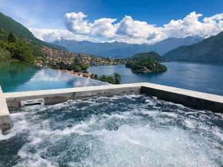 Jacuzzi at Villa BRV LUS (Lustrale) at Lake Como, Italy, Family-Friendly, Pool, 5 Bedroom, 6 Bathroom, WiFi, WIMCO Villas