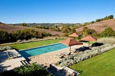 Villa Pool at Villa BRV MEL (Melpomene) at Tuscany, Italy, Family-Friendly, Pool, 4 Bedroom, 4 Bathroom, WiFi, WIMCO Villas
