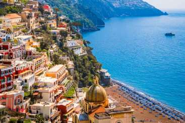The view from Villa BRV MER (Merope) at Amalfi Coast, Italy, Family-Friendly, Pool, 6 Bedroom, 6 Bathroom, WiFi, WIMCO Villas