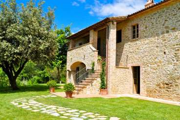 Exterior of Villa BRV MNT (Montana) at Umbria, Italy, Family-Friendly, Pool, 4 Bedroom, 4 Bathroom, WiFi, WIMCO Villas