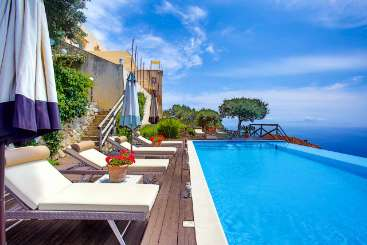 Villa Pool at Villa BRV NUM (Nume) at Amalfi Coast, Italy, Family-Friendly, Pool, 4 Bedroom, 4 Bathroom, WiFi, WIMCO Villas