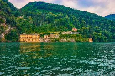 Exterior of Villa BRV PLI (Pliniana) at Lake Como, Italy, Family-Friendly, Pool, 10 Bedroom, 9 Bathroom, WiFi, WIMCO Villas
