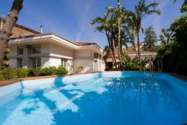 Villa Pool at Villa BRV PME (Le Palme) at Sorrento Coast, Italy, Family-Friendly, Pool, 5 Bedroom, 4 Bathroom, WiFi, WIMCO Villas