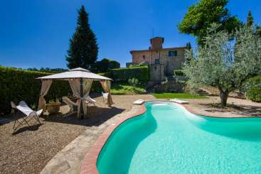 Exterior of Villa BRV ROV (Melograno) at Florence Area, Italy, Family-Friendly, Pool, 5 Bedroom, 4 Bathroom, WiFi, WIMCO Villas
