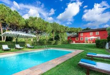 Villa Pool at Villa CSL FRA (Il Frantoio) at Tuscany/Lucca, Italy, Family-Friendly, Pool, 4 Bedroom, 4 Bathroom, WiFi, WIMCO Villas