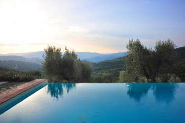 Villa Pool at Villa HII CAN (Cannelle) at Umbria, Italy, Family-Friendly, Pool, 4 Bedroom, 4.5 Bathroom, WiFi, WIMCO Villas