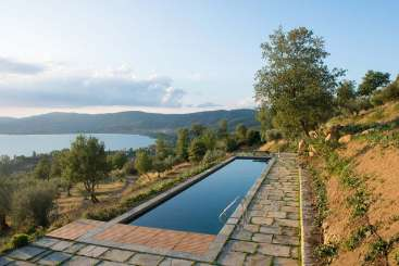 Villa Pool at Villa HII CNC (Colonica) at Umbria, Italy, Family-Friendly, Pool, 3 Bedroom, 3 Bathroom, WiFi, WIMCO Villas