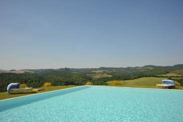 Italy Incredible Pool at VillaColle Sereno