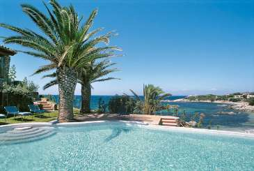 Villa Pool at Villa HII FEN (Fenice) at Sardinia, Italy, Family-Friendly, Pool, 6 Bedroom, 7 Bathroom, WiFi, WIMCO Villas