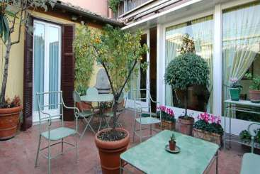 Terrace at Villa HII IMP (Impero) at Rome Area - Apartment, Italy, Family-Friendly, No Pool, 3 Bedroom, 3 Bathroom, WiFi, WIMCO Villas