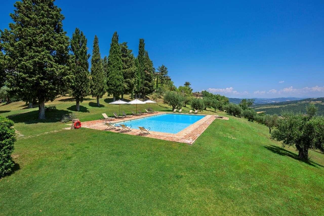 Villa Pool at Villa HII LAS (La Sommita-Limonaia) at Tuscany, Italy, Family-Friendly, Pool, 1 Bedroom, 1 Bathroom, WiFi, WIMCO Villas
