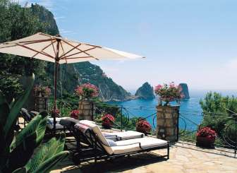 The view from Villa HII PIC (Piccolo Eremo) at Amalfi Coast - Capri, Italy, Pool, 4 Bedroom, 4 Bathroom, WiFi, WIMCO Villas