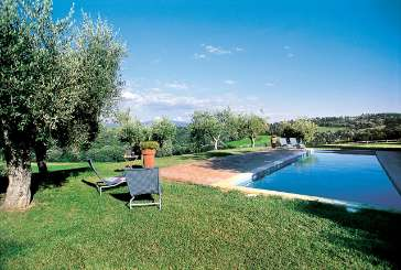 Villa Pool at Villa HII VLL (Vallefalcone) at Umbria, Italy, Family-Friendly, Pool, 6 Bedroom, 6 Bathroom, WiFi, WIMCO Villas