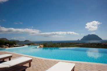 Villa Pool at Villa HII VOP (Volpe) at Sardinia, Italy, Family-Friendly, Pool, 6 Bedroom, 6 Bathroom, WiFi, WIMCO Villas