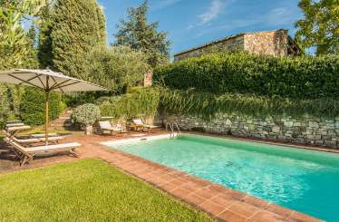 Villa Pool at Villa SAL CMP (Campassole) at Tuscany/Chianti, Italy, Family-Friendly, Pool, 5 Bedroom, 4 Bathroom, WiFi, WIMCO Villas